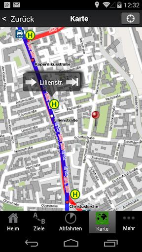 A+ Journey Planner Hannover - screenshot