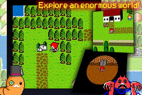 Aidinia 8-bit RPG - screenshot