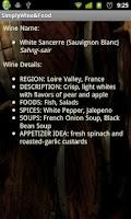 Screenshot of Simply Wine and Food