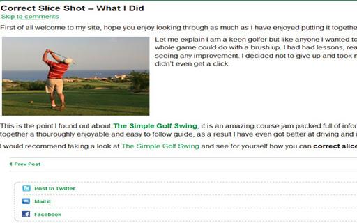 【免費運動App】Golf Swing Tips & Training-APP點子