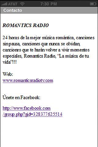 【免費音樂App】Romantics Radio-APP點子