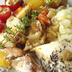 Autumn Chicken With Harvest Vegetables