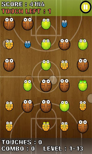bubble-blast-sports for android screenshot
