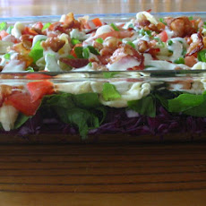 Layered Spinach Salad