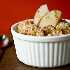 Apple Cinnamon Steel-Cut Oatmeal