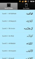 Screenshot of 13 Line Quran Juz 11 to 20