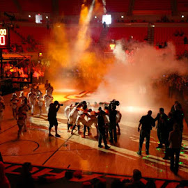 Cowgirl Team Introductions by Kathy Suttles - Sports & Fitness Basketball