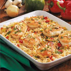 Chicken Rice Casserole Recipe