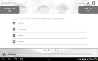 Screenshot of Learn Trigonometry