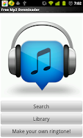 Screenshot of Free Mp3 Downloader