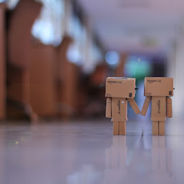 only you and me by Indra Wardana - Artistic Objects Toys (  )