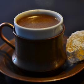 Turkish Delight  by Kamila Romanowska - Food & Drink Alcohol & Drinks ( real, coffee, beautiful, original, cafe, delight, turkish, , Food & Beverage, meal, Eat & Drink )