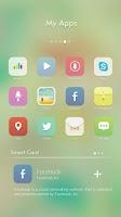 Screenshot of Watercolour GO Launcher Theme