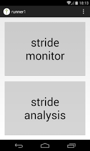 ftNote - stride monitor - screenshot