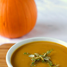 Pumpkin Soup with Apple & Spices
