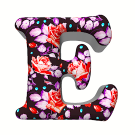 E by Kris Pate - Typography Single Letters