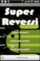 Screenshot of SuperReversi