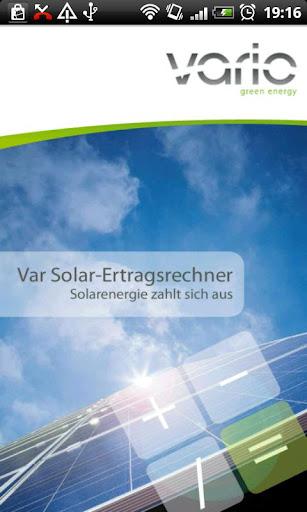 Vario Solar Calculator