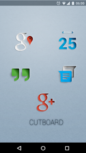 CUTBOARD - Icon Pack - screenshot