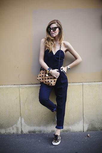 Italian blogger's sunglasses
