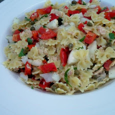 Albacore Tuna and Bow Tie Pasta Salad