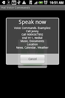 Screenshot of Hal eReader with Voice