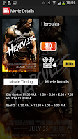 Screenshot of Bahrain Cinema Schedule