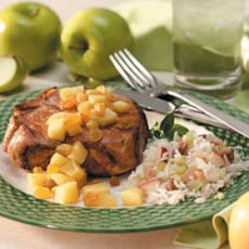 Walnut Apple Rice