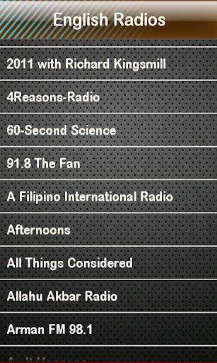 玩免費娛樂APP|下載English Radio English Radios app不用錢|硬是要APP