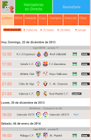 Screenshot of Futboltele LA LIGA