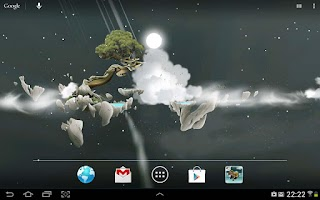 Screenshot of Sky Islands LWP