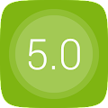 GO Launcher EX UI5.0 theme APK for Bluestacks