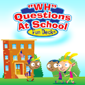 WH Questions At School icon