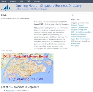 Singapore Hours - screenshot