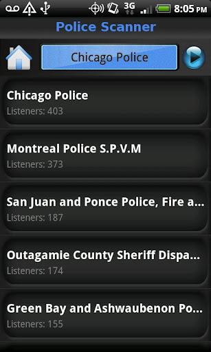 玩娛樂App|Police Scanner 5-0免費|APP試玩