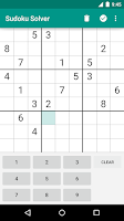 Screenshot of Sudoku Solver