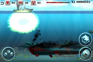 Screenshot of Submarine Crusher Free