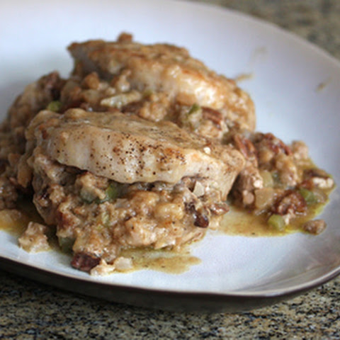 Stuffed Boneless Pork Chops