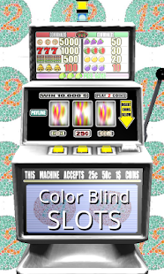 3D Color Blind Slots - Free - screenshot