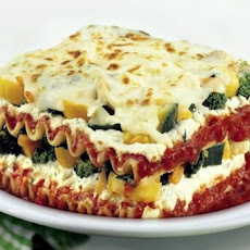 Wisconsin Cheese Garden Lasagna