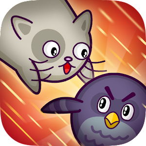 Cats Vs Birds - play a zany game to pounce birds & rid them of the sky
