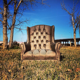lonesome chair. by Corbin Hughes - Instagram & Mobile iPhone