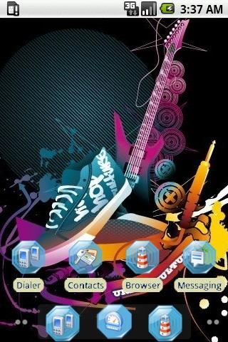 Rocker Guitar [SQTheme] ADW