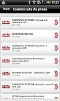 Screenshot of Astra Asigurari Romania