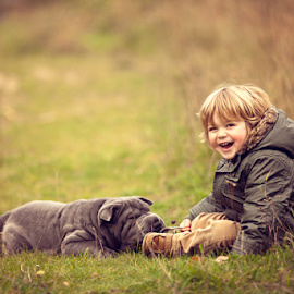 I love my Doggie by Chinchilla  Photography - Babies & Children Toddlers