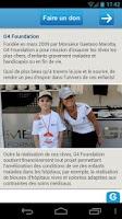 Screenshot of Swiss Charity