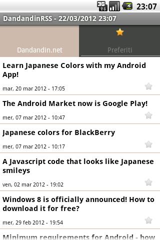 Dandandin.net RSS