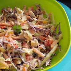 Mollie Katzen's Rainbow-Raisin Cole Slaw