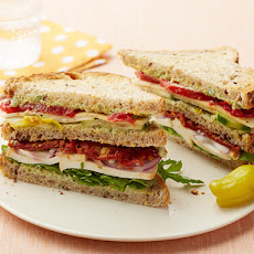 Veggie Lover's Club Sandwich