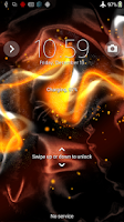 Screenshot of Xperia™ theme - Rock on